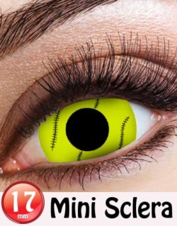 Trapped Enemy Sclera 17 mm Crazylinser