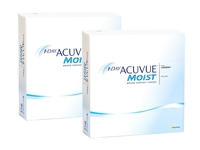 1-DAY Acuvue Moist (180 linser)