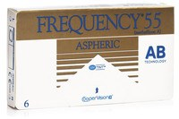 Frequency 55 Aspheric CooperVision (6 linser)