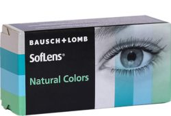 SofLens Natural Colors Aquamarine 2 stk
