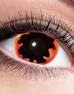Black Sun Mini Sclera 17 mm Crazylinser